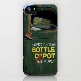Bottle Depot Truck 2 iPhone Case