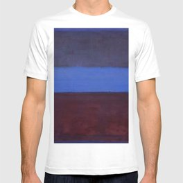 No.61 Rust and Blue 1953 by Mark Rothko T-shirt