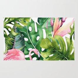 Tropical & flamingo collection Rug