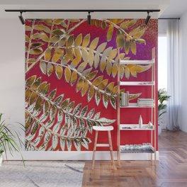 Crimson Daydream Wall Mural