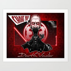 The Darth Vader concept! Art Print