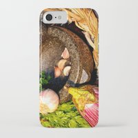 vegetables iPhone & iPod Cases featuring vegetables by  Agostino Lo Coco