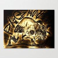 pagan Canvas Prints featuring Pagan Pan by Shane R. Murphy