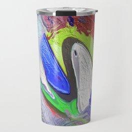 Abstract Mandala 204 Travel Mug