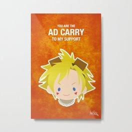 LoL: Ezreal ADC Metal Print