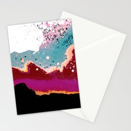 Logic Drowned In a Sea Of Emotion #digitalart #graphicdesign Stationery Cards