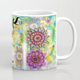 Summer Soft Floral Coffee Mug