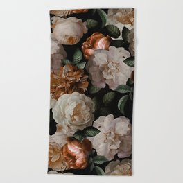 Golden Jan Davidsz. de Heem Roses Beach Towel