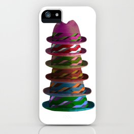 Hat Mountain iPhone Case