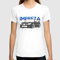 subaru T-shirts featuring Subaru Impreza 2006 by Vehicle