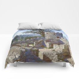 Portugal, Sintra, Castelo dos Mouros castle ramparts Comforters