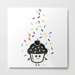 Pimp My Cupcake Metal Print