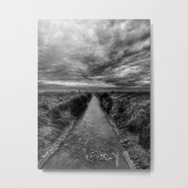   channel to the gates of heaven   Metal Print