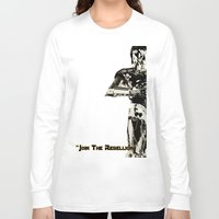 c3po Long Sleeve T-shirts featuring C3PO by KL Design Solutions