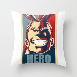 Boku no Hero Academia All Might Throw Pillow