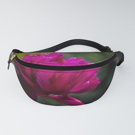 Violet peony Fanny Pack