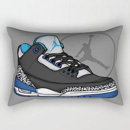Jordan 3 (Sport Blue) Rectangular Pillow