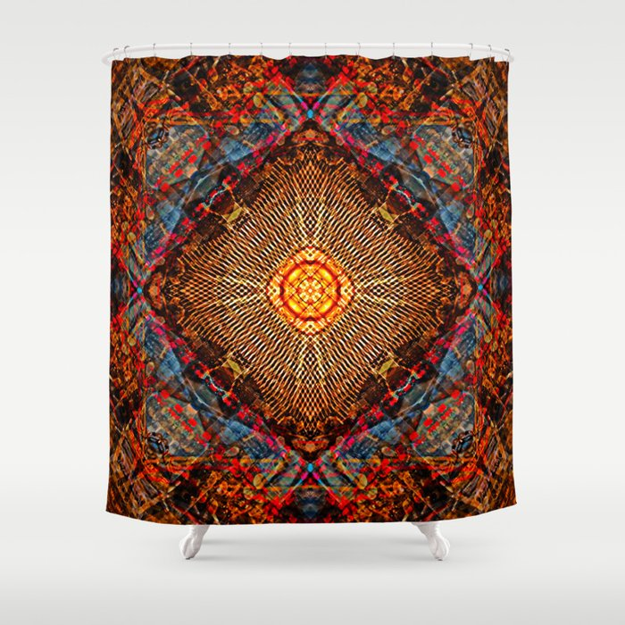 Heat Sink Shower Curtain