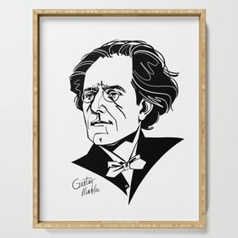 Gustav Mahler Serving Tray