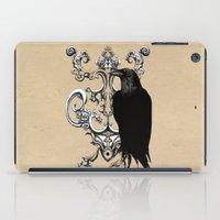 raven iPad Cases featuring Raven by Кaterina Кalinich