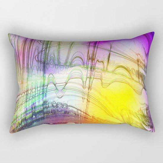 convenient shirt pattern I Rectangular Pillow