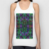 wild things Tank Tops featuring Wild Things II by RingWaveArt