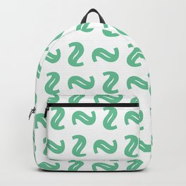 Green Shapes Backpack