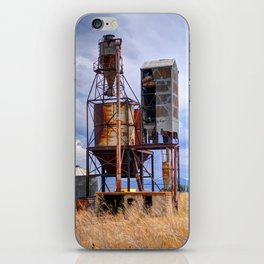 Old Rusted Grain Silo - Cache Valley - Utah iPhone Skin