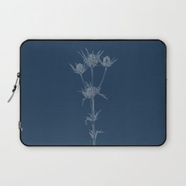 Milk Thistle Blueprint Laptop Sleeve