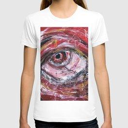 Right red eye T-shirt
