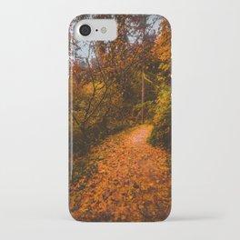 Autumn Arboretum iPhone Case
