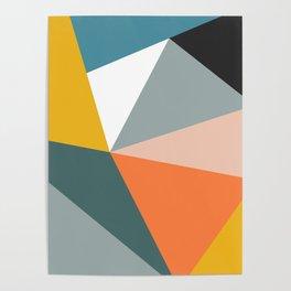 Modern Geometric 33 Poster