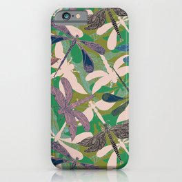 Dancing Dragonflies iPhone Case