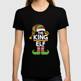 Elf Christmas The King Elf T-shirt
