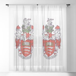 University of Essex - Coat of arms Sheer Curtain