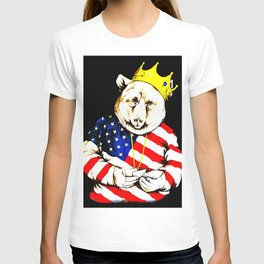King Bear intense colour1 T-shirt