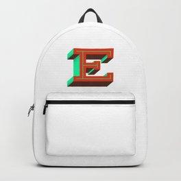 Letter E Backpack