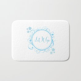 Let it Go - FROZEN Bath Mat