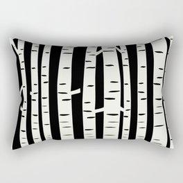 Birch Forest Rectangular Pillow