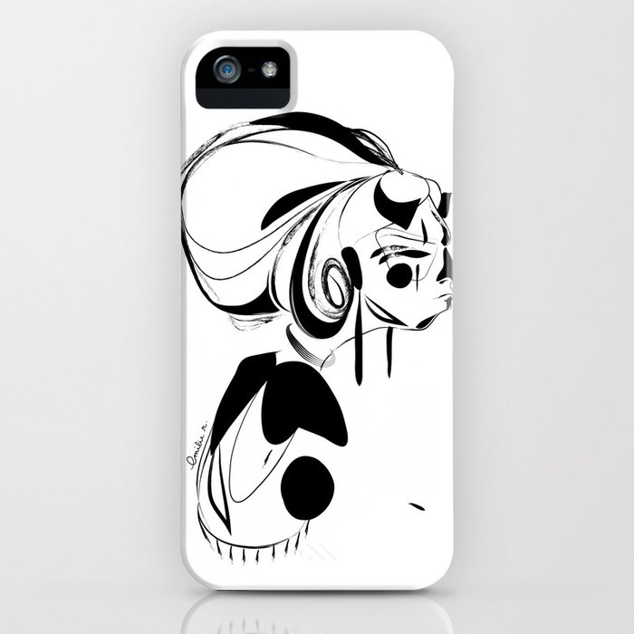 Every second is a handful of dirt - Emilie Record iPhone Case