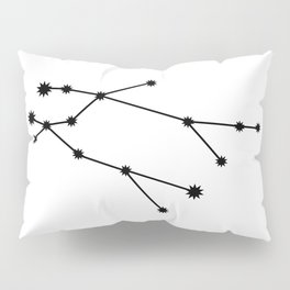 Gemini Astrology Star Sign Minimal Pillow Sham