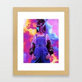 Abstra Framed Art Print