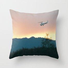 Wallows Fire... Throw Pillow