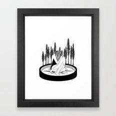 Lost Stars Framed Art Print