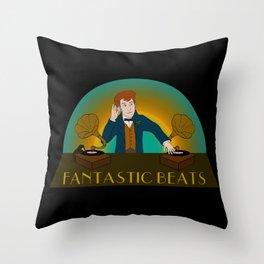 Fantastic Beats Throw Pillow