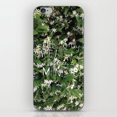 elegance is in the mind iPhone & iPod Skin