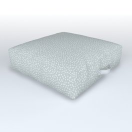SILVER STARS CONFETTI Outdoor Floor Cushion