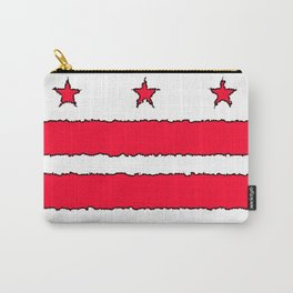 Fancy Flag: Washington, DC    District of Columbia Carry-All Pouch