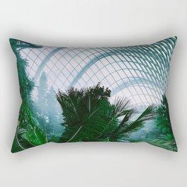 Tropical Indoors (Color) Rectangular Pillow