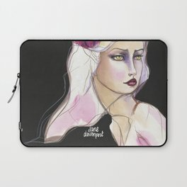 Green Eyed by Jane Davenport Laptop Sleeve